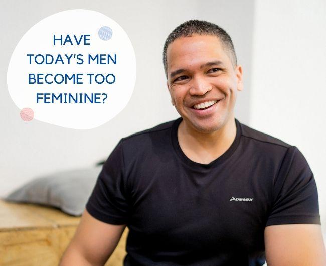 фото Неужели сегодняшние мужчины стали слишком женственными?